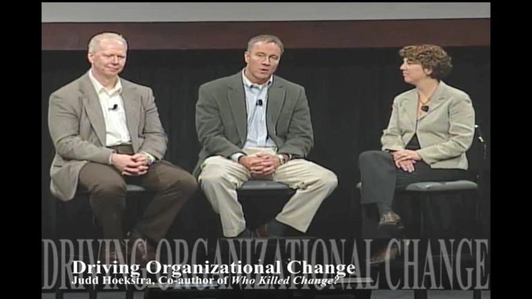 Driving Organizational Change(Oct 2009)