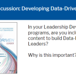 Developing Data-Driven Leaders