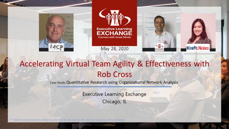 Accelerating Virtual Team Agility & Effectiveness