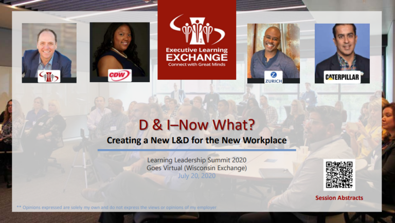 D & I – Now What?