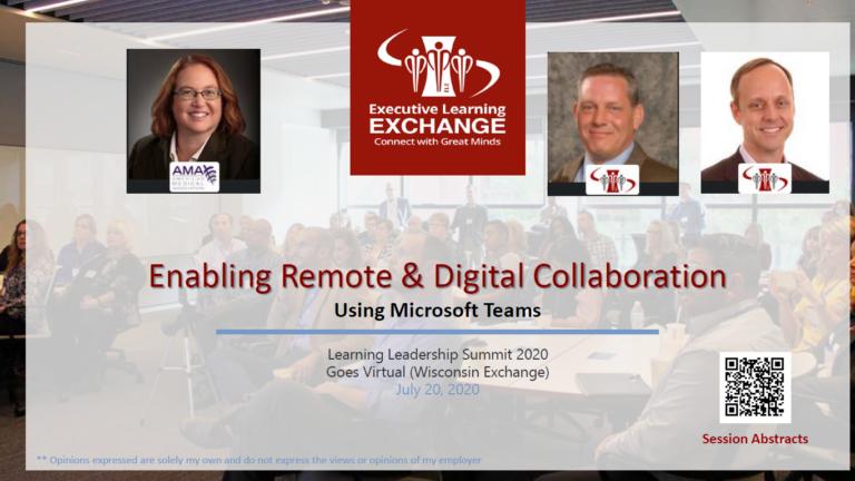 Enabling Remote & Digital Collaboration