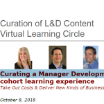 Curation Learning Circle (Oct 2018)