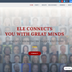 ELE Connects you with Gret Minds